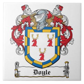 Escudo de la familia de Doyle Azulejo Cuadrado Grande