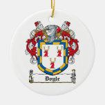 Escudo de la familia de Doyle Ornamento Para Reyes Magos