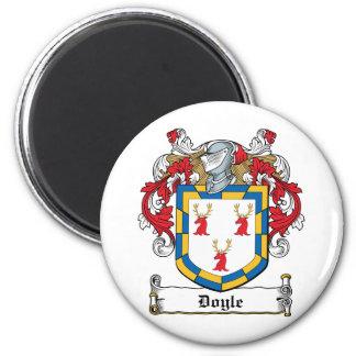 Escudo de la familia de Doyle Imán Redondo 5 Cm