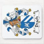Escudo de la familia de Drach Alfombrilla De Ratón