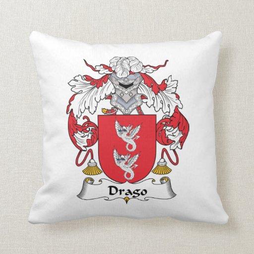 Escudo de la familia de Drago Cojines