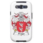 Escudo de la familia de Drago Samsung Galaxy S3 Cárcasa