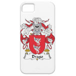 Escudo de la familia de Drago iPhone 5 Carcasas