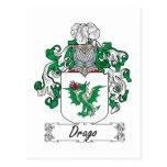 Escudo de la familia de Drago Postal