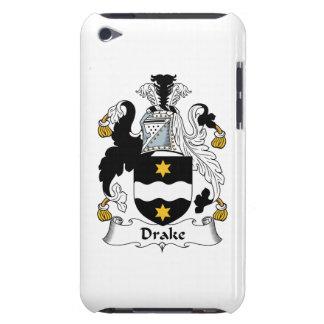 Escudo de la familia de Drake Barely There iPod Coberturas