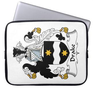 Escudo de la familia de Drake Fundas Ordendadores