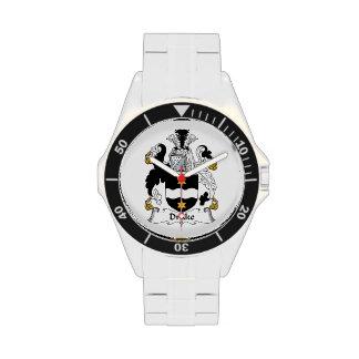 Escudo de la familia de Drake Reloj De Mano