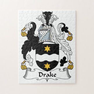Escudo de la familia de Drake Rompecabeza