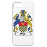 Escudo de la familia de Drax iPhone 5 Case-Mate Protector
