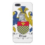Escudo de la familia de Drax iPhone 5 Carcasa
