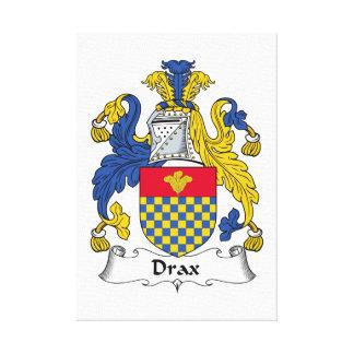 Escudo de la familia de Drax Lona Estirada Galerias
