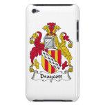 Escudo de la familia de Draycott iPod Touch Case-Mate Carcasas