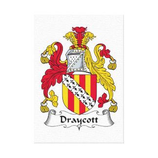 Escudo de la familia de Draycott Impresiones En Lona