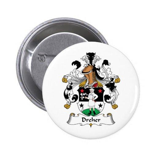 Escudo de la familia de Dreher Pins