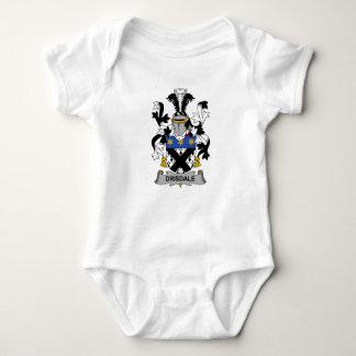 Escudo de la familia de Drisdale Body Para Bebé