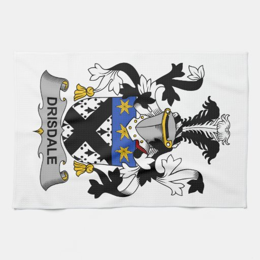 Escudo de la familia de Drisdale Toalla De Mano