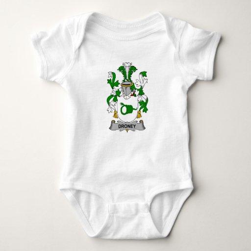 Escudo de la familia de Droney Body Para Bebé