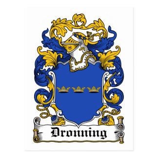 Escudo de la familia de Dronning Postal