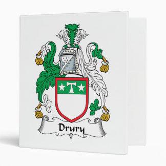 Escudo de la familia de Drury