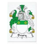 Escudo de la familia de Drury Anuncio