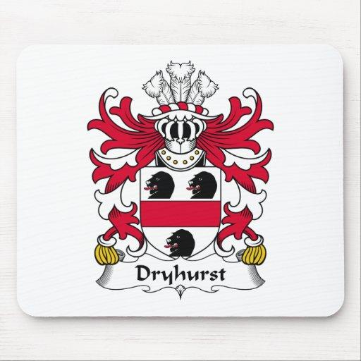 Escudo de la familia de Dryhurst Tapetes De Ratón