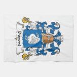Escudo de la familia de Du Pont Toallas De Mano