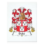 Escudo de la familia de Dube Anuncios Personalizados