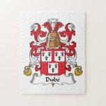 Escudo de la familia de Dube Rompecabezas