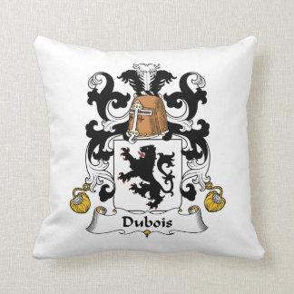 Escudo de la familia de Dubois Cojines