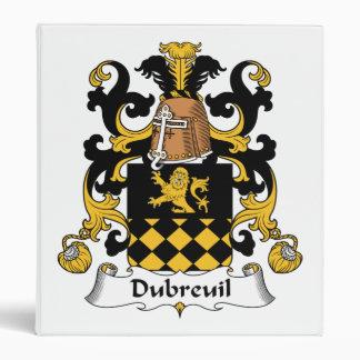 Escudo de la familia de Dubreuil