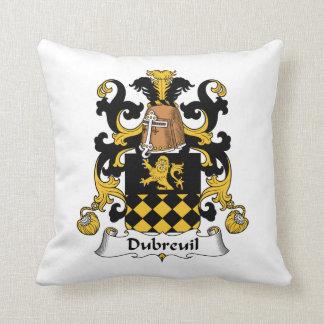 Escudo de la familia de Dubreuil Almohada