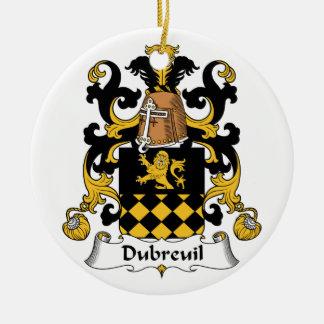 Escudo de la familia de Dubreuil Ornamento De Reyes Magos