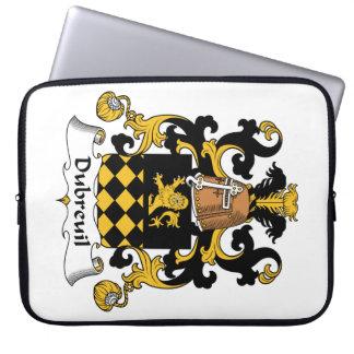 Escudo de la familia de Dubreuil Mangas Portátiles