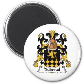 Escudo de la familia de Dubreuil Imán De Nevera