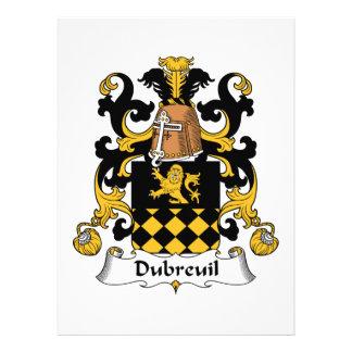 Escudo de la familia de Dubreuil Comunicados Personales