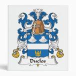 Escudo de la familia de Duclos