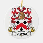 Escudo de la familia de Ducrocq Ornatos