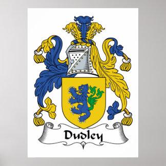 Escudo de la familia de Dudley Póster