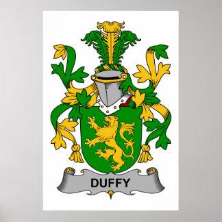 Escudo de la familia de Duffy Impresiones