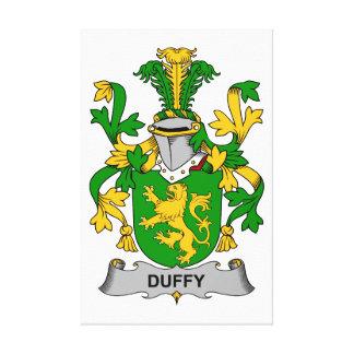Escudo de la familia de Duffy Impresión De Lienzo