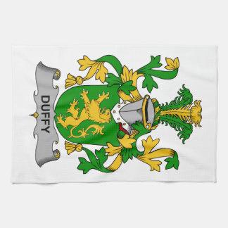 Escudo de la familia de Duffy Toallas De Mano
