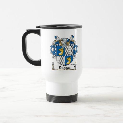 Escudo de la familia de Duggan Tazas De Café
