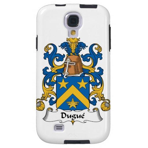 Escudo de la familia de Dugue Funda Para Galaxy S4