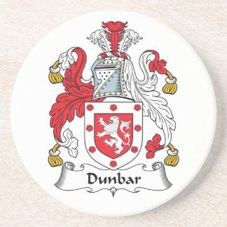 Escudo de la familia de Dunbar Posavaso Para Bebida