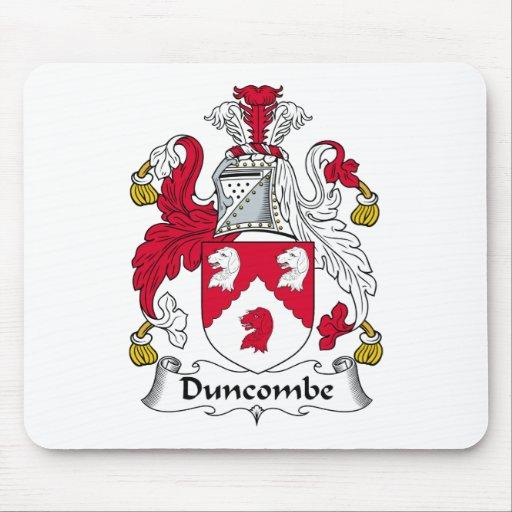 Escudo de la familia de Duncombe Tapete De Ratones