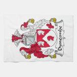 Escudo de la familia de Duncombe Toalla De Mano