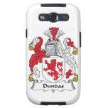 Escudo de la familia de Dundas Galaxy S3 Cárcasas