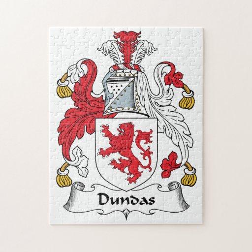 Escudo de la familia de Dundas Rompecabeza Con Fotos