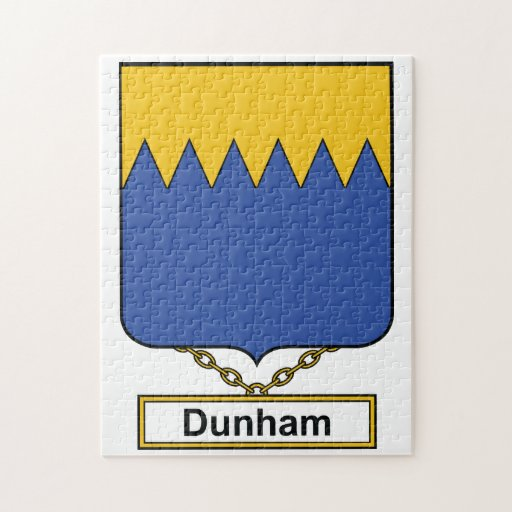 Escudo de la familia de Dunham Puzzles Con Fotos