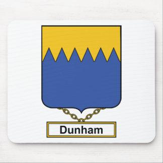 Escudo de la familia de Dunham Tapete De Ratón